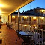 Motel - night view