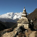 Somewhere between Pangboche and Tengboche - 26 October 2013