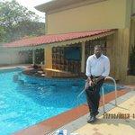 near pool