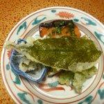 Yakimono: Roasted buds trout