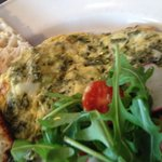 Kale Frittata really tasty !!