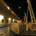 night time on deck