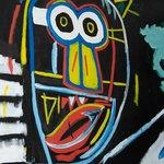 Basquiat in the bedroom - Didn't keep me awake