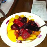 fresh fruit, yum