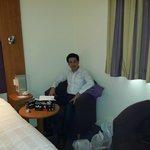 At room