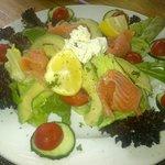 The health choice - smoked salmon salad