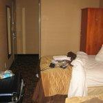 Room toward door