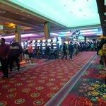 Approach Restaurant Through Casino