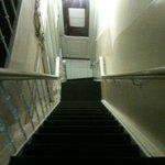 una delle rampe di scala