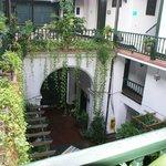 Beautiful cente courtyard
