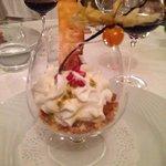 Amazing dessert at le Beaucet