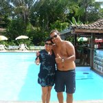 Dia de sol na piscina do hotel!!