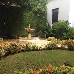 El patio central