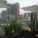 Вид из ресторана отеля