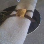 Présentation de la serviette