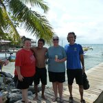 Snorkeling with Alex and Javier