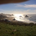 Views like this all along the coast road from Eureka to Brookings, OR
