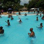 De zwembaden