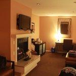 Room 218 living area