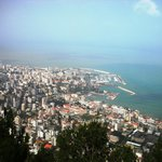 view of Kaslik from hotel