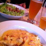 Lobster Poutine and Blonde Ale