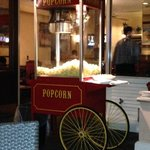 Popcorn Machine at Managers Reception