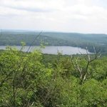 Sterling Lake seen from Sterling Ridge