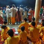 Parmarth Niketan Ashram evening Aarti