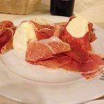 Fresh ham & mozzarella!