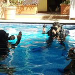 Instruction in the Pool...confined training...