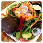 Cantaloupe Chicken Salad