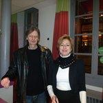 Milano y Beatriz, excelentes anfitriones