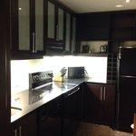 16th floor Apartment suite, 1st floor kitchen