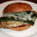 Southwestern Chicken Burger