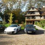 Repas d'un club Porsche