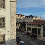 Behind the market is the final metro station cas de soudré