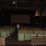 sala de cinema aberta