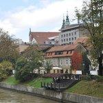 Il fiume Ljubljanica