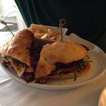 Steak sandwich, lovely