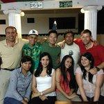 los amigos que hice en el Hostel :)
