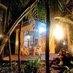 Island Lodge Verandah Night