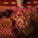 Half pound boiled shrimp appetizer... Very tasty!