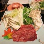 台物(上州牛しゃぶしゃぶ)