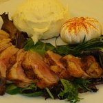 Wild Game- Marinated Duck Breast served all year round at the Boars Head PCB/