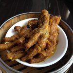 Chicken feet.