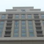 Front of Waldorf resort.
