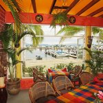 What a view - La Cruz harbour