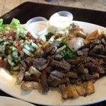 Beef and Chicken Shawarma
