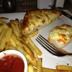 Croque Monsieur with fries
