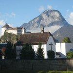 Крепость Куфштайна видна из любой точки городка